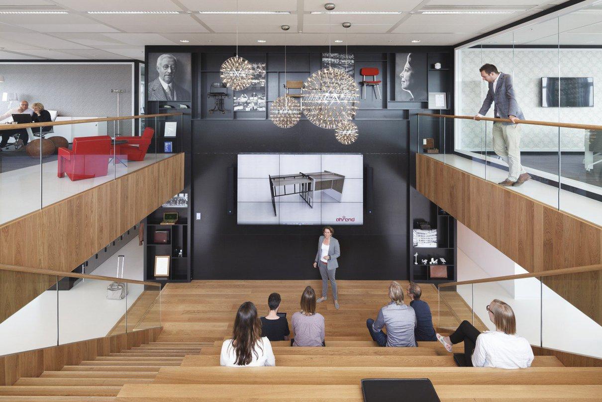 Ahrend Kantoormeubelen Rotterdam.Ahrend Inspiration Centre Kraaijvanger Architects