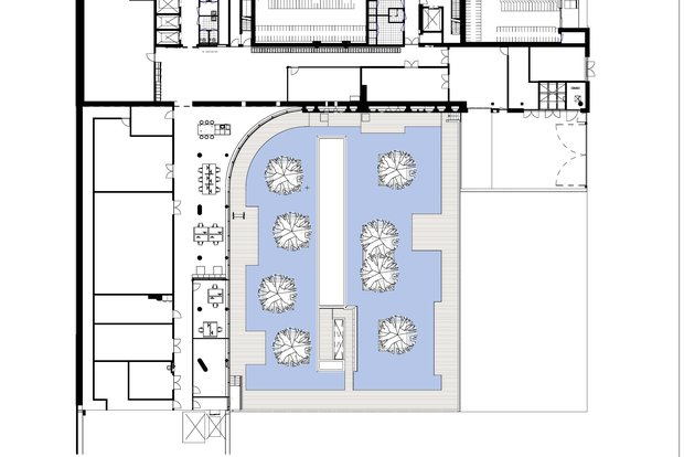 City Hall Venlo © Kraaijvanger Architects - Floor plan basement 2.jpg