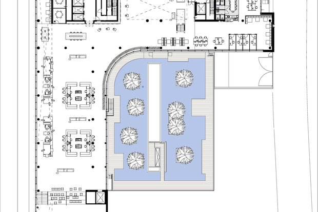 City Hall Venlo © Kraaijvanger Architects - Floor plan ground floor 2.jpg