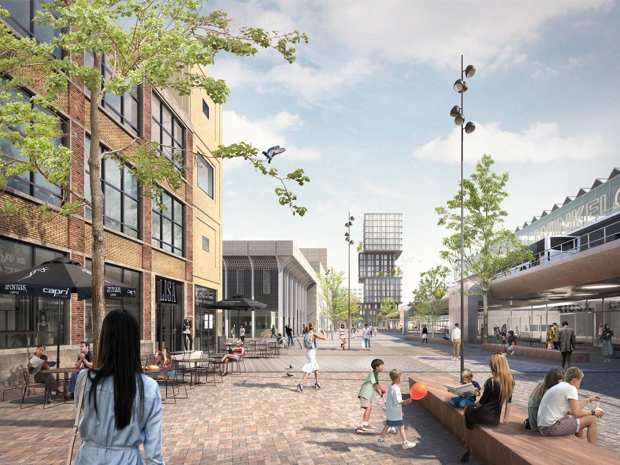 Areal propertydevelopment Hart van Zuid Rotterdam
